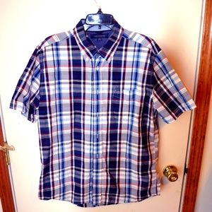 tommy hilfiger large button up shirt